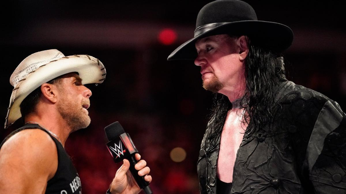 "<p>Shawn Michaels <a href=""https://www.digitalspy.com/tv/ustv/a869843/wwe-crown-jewel-saudi-arabia-2018-results-video-highlights/"" target=""_blank"">officially unretired in 2018 and wrestled a match as a named competitor</a> when he and Triple H reunited D-X for a match against The Undertaker and Kane.<br></p><p>When the match was announced there was much speculation of a final blowoff between Shawn Michaels and Taker at another Saudi Arabian event, or even at WrestleMania.</p><p>International geopolitics has led <a href=""https://www.digitalspy.com/tv/ustv/a869843/wwe-crown-jewel-saudi-arabia-2018-results-video-highlights/"" target=""_blank"">WWE Crown Jewel to be written out of history almost</a> and Shawn Michaels called the match a ""cheat day"" but the fact is you can't put the genie back in the lamp.</p><p>HBK is unretired. The Undertaker isn't one to let a defeat stay unavenged if he can do anything about it. One more end of an era?<br></p>"