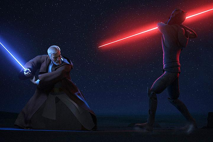 Star Wars Rebels Obi-wan darth maul