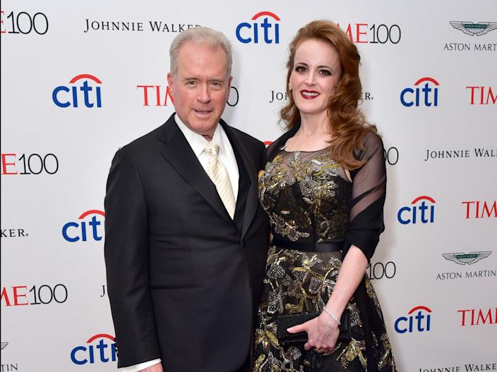 Robert Mercer and his daughter, Rebekah.
