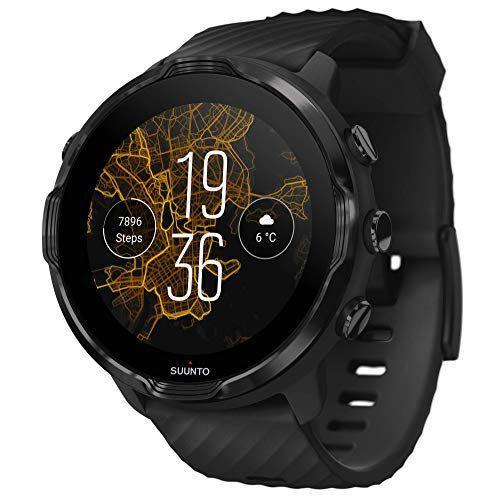 """<p><strong>SUUNTO</strong></p><p>amazon.com</p><p><strong>$398.95</strong></p><p><a href=""""https://www.amazon.com/dp/B083MLS458?tag=syn-yahoo-20&ascsubtag=%5Bartid%7C2164.g.36212544%5Bsrc%7Cyahoo-us"""" rel=""""nofollow noopener"""" target=""""_blank"""" data-ylk=""""slk:Shop Now"""" class=""""link rapid-noclick-resp"""">Shop Now</a></p><p>Versatile, compatible with both Android and iOS phones, and easy to set up, this watch isn't just for the sports and exercise fans. It can do it all: check for incoming calls and messages, manage his to-do list, and even make payments. </p>"""