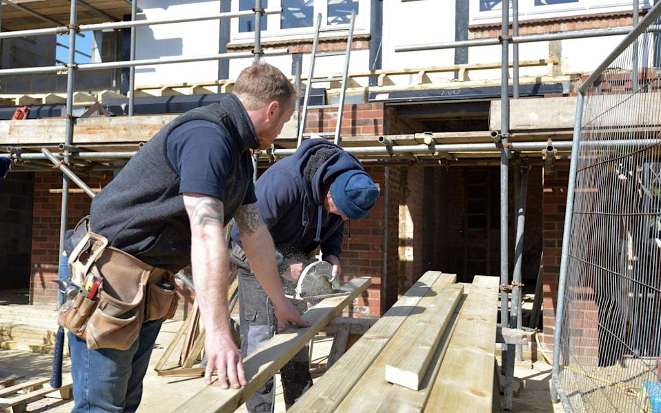 Self-employed builders