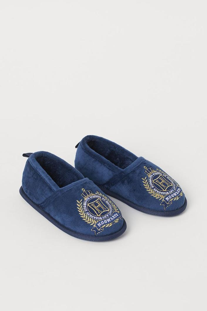 Soft Embroidered Slippers
