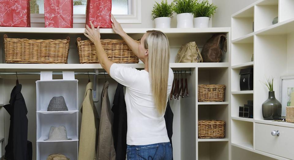 Clever home storage hacks [Photo: Getty]