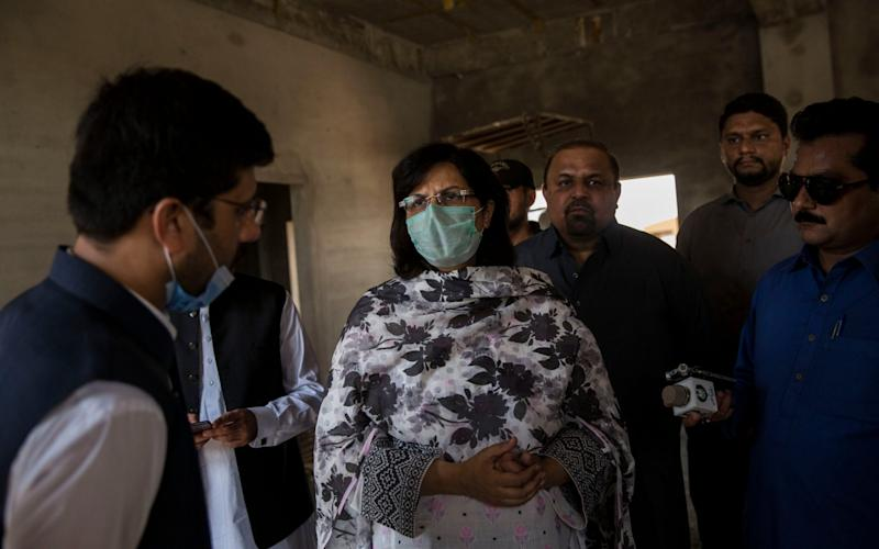 Dr Sania Nishtar, who is leading the fight against stunting in Pakistan - Saiyna Bashir