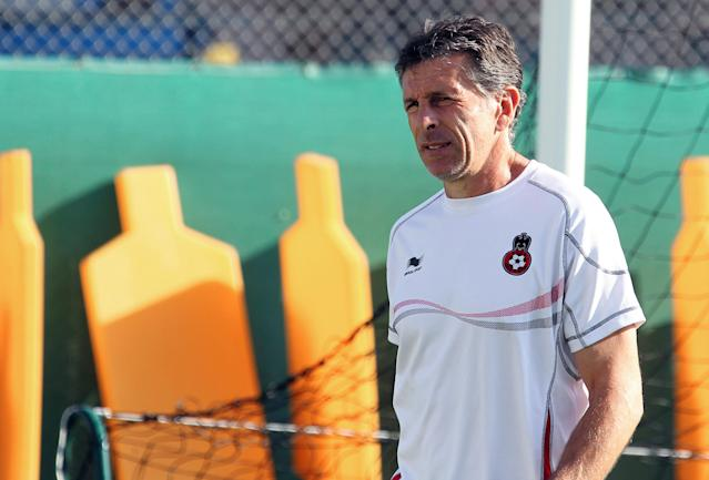 Nice's coach Claud Puel takes part in a training session, on August 07, 2012, in Nice, southern France, prior the French Championship League 1 football matches beginning on August 10, 2012. AFP PHOTO / VALERY HACHEVALERY HACHE/AFP/GettyImages