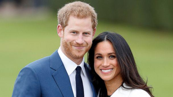 PHOTO: Britain's Prince Harry poses with his fiancee Meghan Markle during a photocall after announcing their engagement in the Sunken Garden at Kensington Palace in London, Nov. 27, 2017. (Max Mumby/Indigo/Getty Images)