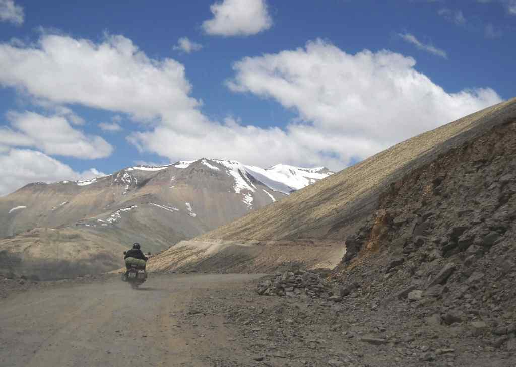 A moment In the high-altitude desert of Ladakh
