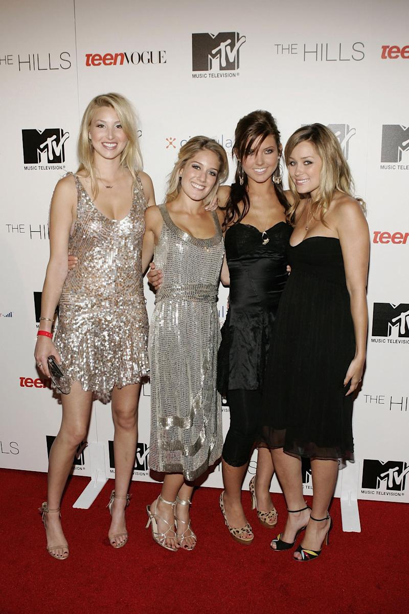 The original cast of The Hills (Getty Images)