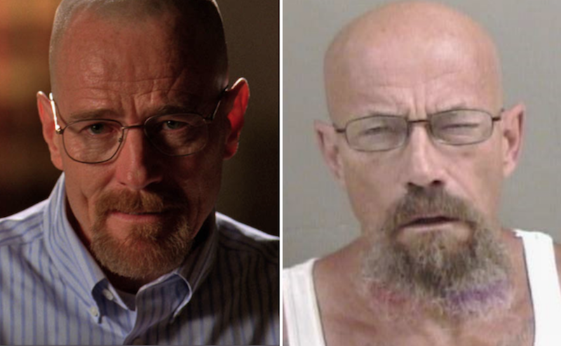 Walter White lookalike wanted in meth possession case