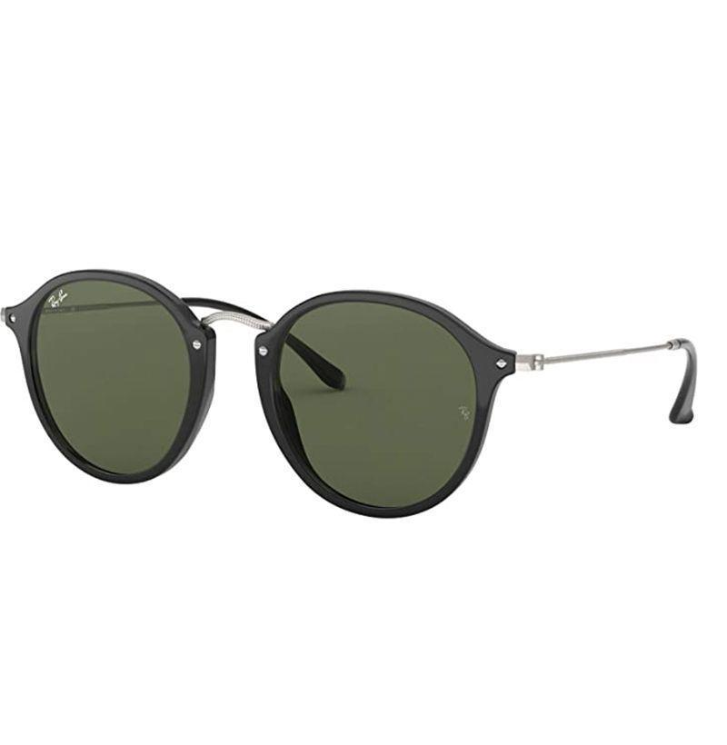 """<p><strong>Ray-Ban</strong></p><p>amazon.com</p><p><strong>$165.00</strong></p><p><a href=""""https://www.amazon.com/dp/B00S963GNU?tag=syn-yahoo-20&ascsubtag=%5Bartid%7C10054.g.32958300%5Bsrc%7Cyahoo-us"""" rel=""""nofollow noopener"""" target=""""_blank"""" data-ylk=""""slk:Buy"""" class=""""link rapid-noclick-resp"""">Buy</a></p><p>Black frames with tinted green lenses is an all-time combo. </p>"""