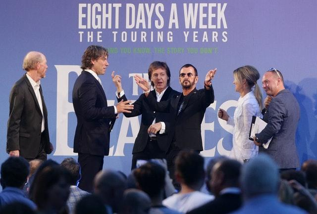 The Beatles Eight Days A Week – The Touring Years premiere – London