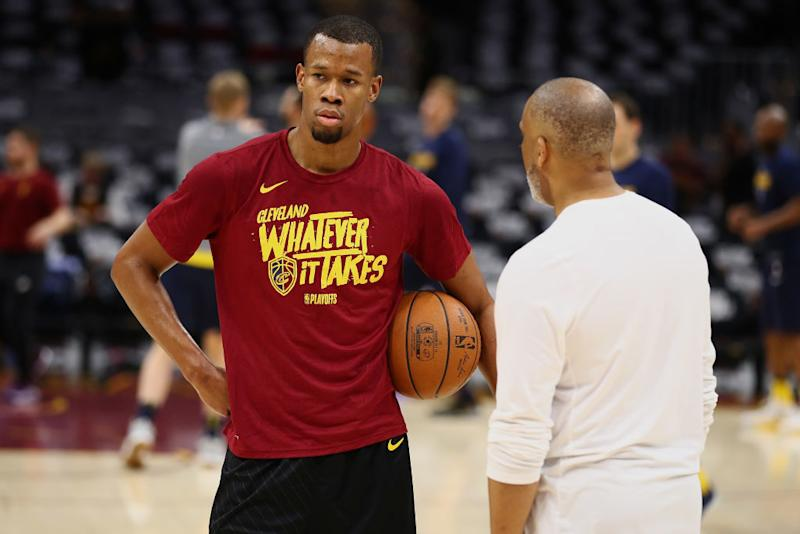 Cavs Wing Rodney Hood Refused To Enter Game 4