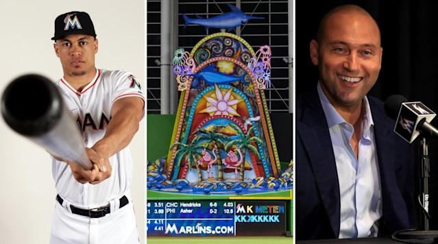 One thing that becomes clear from Ben Reiter's new article about how the Yankees landed Giancarlo Stanton is that Stanton and new Marlins minority owner Derek Jeter don't see eye-to-eye.
