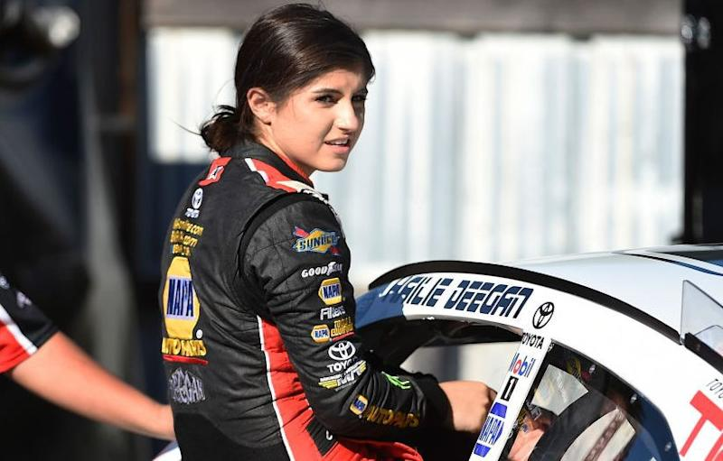 17-year-old Hailie Deegan's win puts her in NASCAR history books