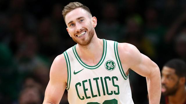 Gordon Hayward was pleased to see the Boston Celtics bounce back by beating the Charlotte Hornets.