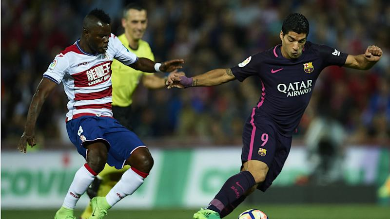 Granada snub Wakaso for Saturday La Liga fixture