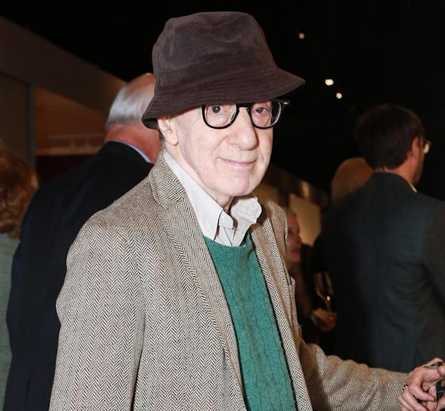 Woody Allen in February 2018 in New York City. (Photo: Gonzalo Marroquin/Patrick McMullan via Getty Images)