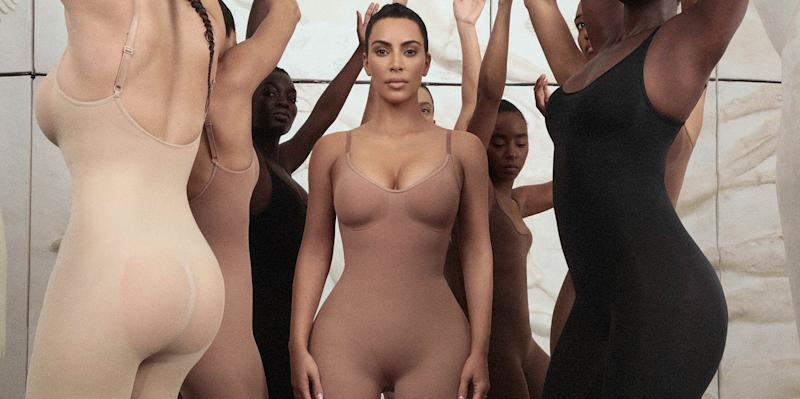 Kim Kardashian's long-awaited shapewear line launches today [Photo: Skims]