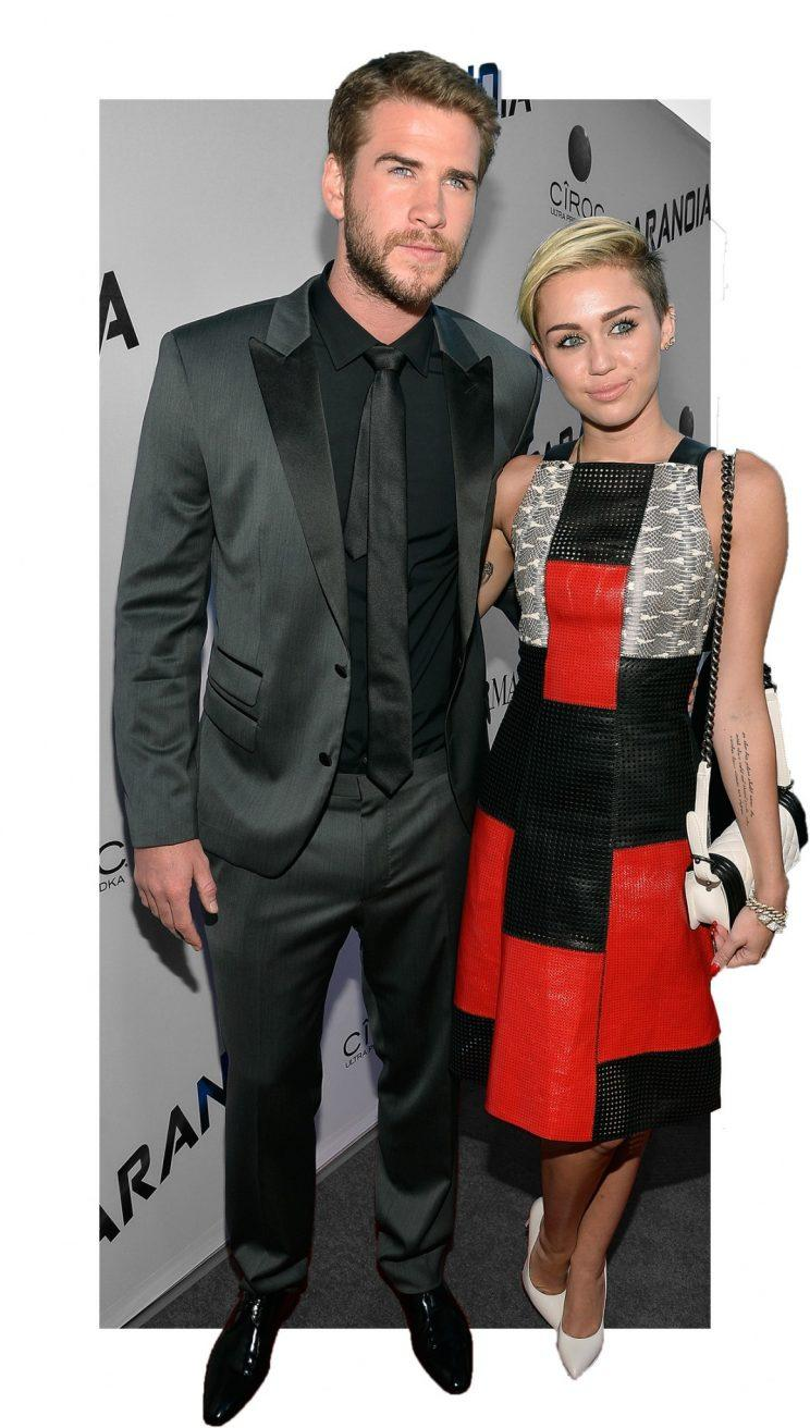 Liam and Miley (Photo: Getty Images)