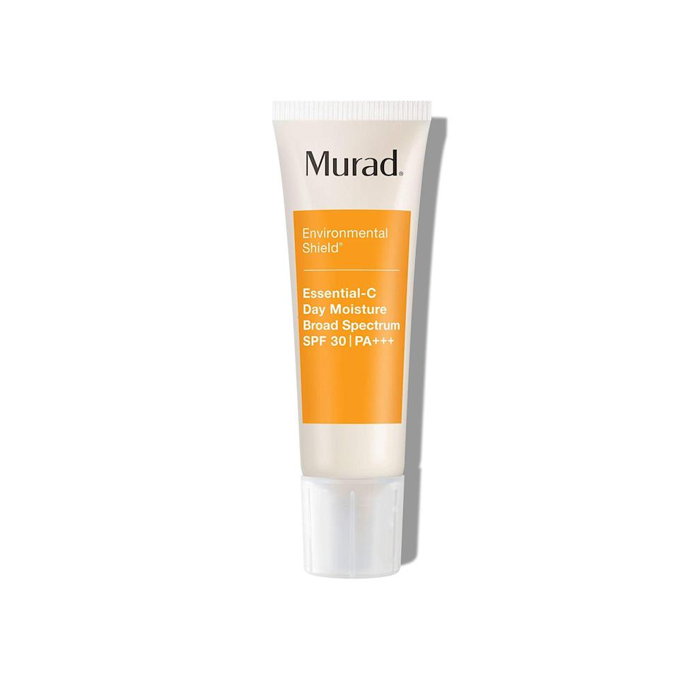 """<h2>Murad</h2><br>Up to 20% off select products<br><br><strong>Murad</strong> Environmental Shield Essential-C Day Moisture SPF 30, $, available at <a href=""""https://amzn.to/2TQ037k"""" rel=""""nofollow noopener"""" target=""""_blank"""" data-ylk=""""slk:Amazon"""" class=""""link rapid-noclick-resp"""">Amazon</a>"""