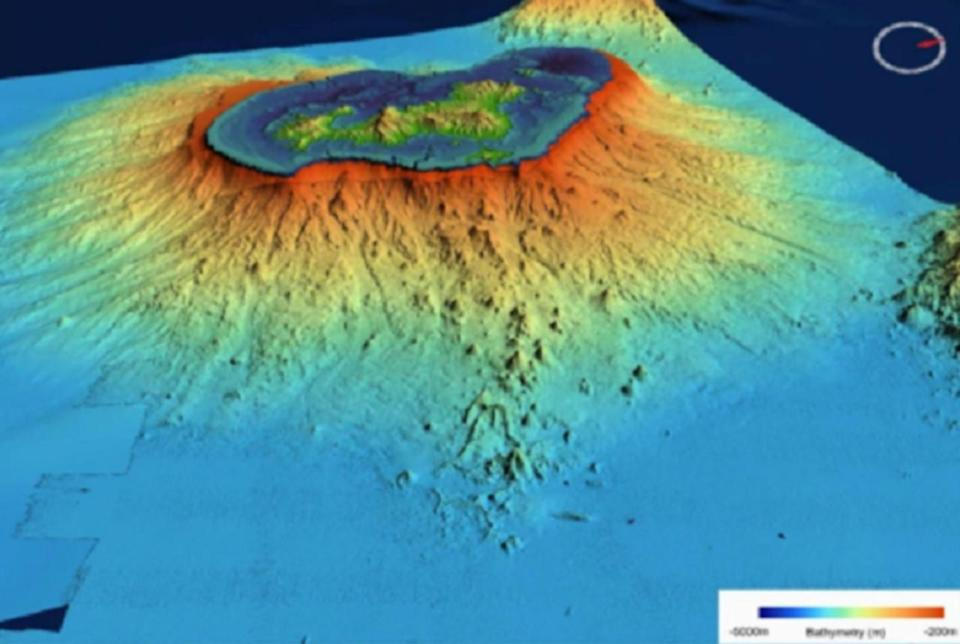 Largest underwater eruption on record spawned a new volcano