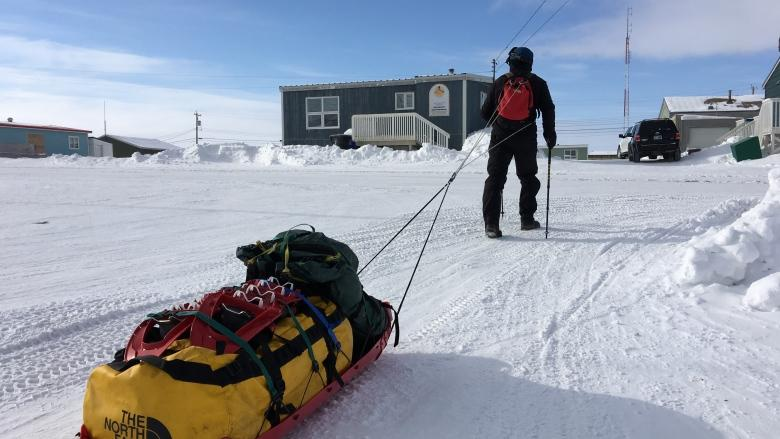 'Get across Canada or die with all my teeth': Solo hiker tackles Nunavut in walk spanning decades
