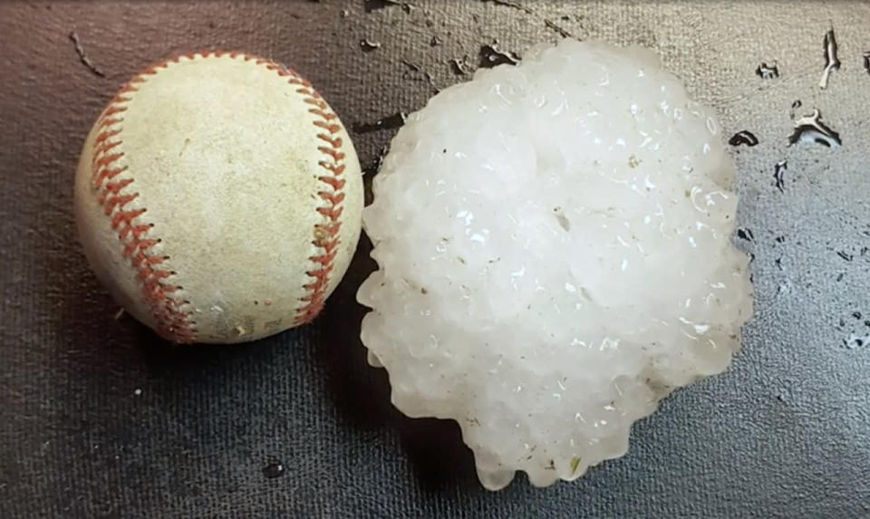 The massive Texas storm that produced deadly tornadoes and baseball-sized hail