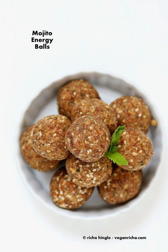"""<p>These mojito balls (<em>yes, mojito balls</em>) are the epitome of food that excites. They're designed to give you a boost of energy and a buzz, but the alcohol is optional. </p><p><a class=""""link rapid-noclick-resp"""" href=""""https://www.veganricha.com/mojito-energy-balls-vegan-glutenfree/#recipe"""" rel=""""nofollow noopener"""" target=""""_blank"""" data-ylk=""""slk:Get the recipe"""">Get the recipe</a><em><br></em></p><p><em>Per serving: 145 cal, 7 g fat (2 g saturated fat), 18 g carbs, 12 g sugar, 27 mg sodium, 3 g fiber, 2 g protein</em></p>"""