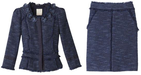 Rebecca Taylor Re-Release Kate Middleton's Navy Blue Jacket and Skirt - AND GO!