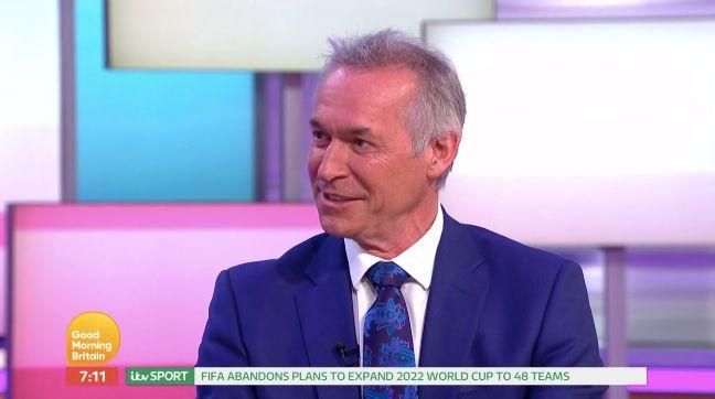 Dr Hilary Jones is celebrating 30 years on TV (Credit: ITV's Good Morning Britain)