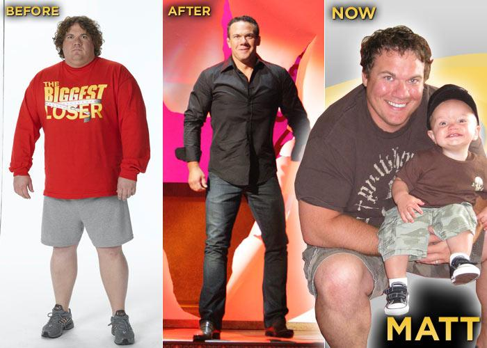 """I can't even begin to count the ways <a href=""""/the-biggest-loser/show/37103"""">""""The Biggest Loser""""</a> has changed my life! My first book, """"Matt Hoover's Guide to Life, Love, and Losing Weight,"""" is going to be released next week and I recently co-founded BestLifeDesign.com. And most importantly, I met my wife Suzy on the show and we now have two beautiful boys, Rex and Jax. I have the life today that I used to think you could only read about. I think the best lesson I took from the ranch is that it's never too late to make changes in your life. Healthy eating and daily exercise are routine for us now and we make exercise a family activity. Exercise doesn't have to be hours at the gym; it can be as simple as a walk around the block with your kids! We don't really monitor our weight anymore. We spent the whole year after the show obsessing about the scale. Today we stay active and help keep each other in check. As far as weight gain goes, I did have a spurt where I put some back on. I felt like it was OK because I had still kept off over 100 pounds. The problem with that type of thinking is that you may give yourself a false sense of security. Bells went off for me when I saw myself on an interview with Larry King. When I saw what I actually looked like on television I had a freak-out. I knew I had to get back to work. Gaining some weight isn't that big of a deal, but not addressing it immediately is when you run the risk of things getting out of hand. I also went out and got a personal trainer. I realized that I needed someone coaching me."""