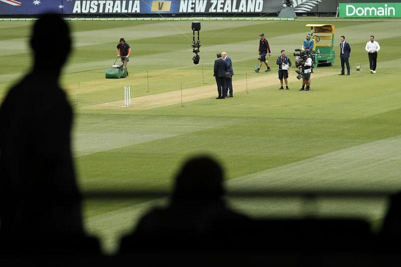 MCC Chief Executive Stuart Fox expressed his concerns over the preparation of the MCG pitch for the Boxing Day Test