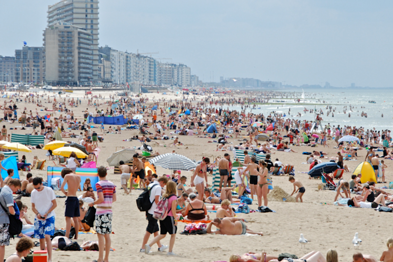 The beachfront in Ostend, Belgium, the town the 'mega-brothel' will serve: Stephan Mignon/Flickr