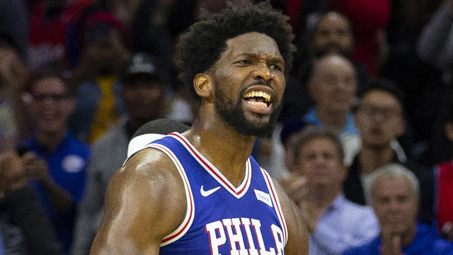 The Philadelphia 76ers improved to 13-0 at home this NBA season by beating the Denver Nuggets.