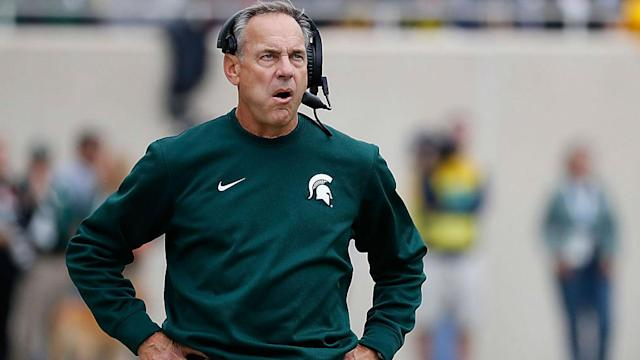 Mark Dantonio spoke to reporters Tuesday, but he shed few details on the sexual assault investigation hanging over the program.