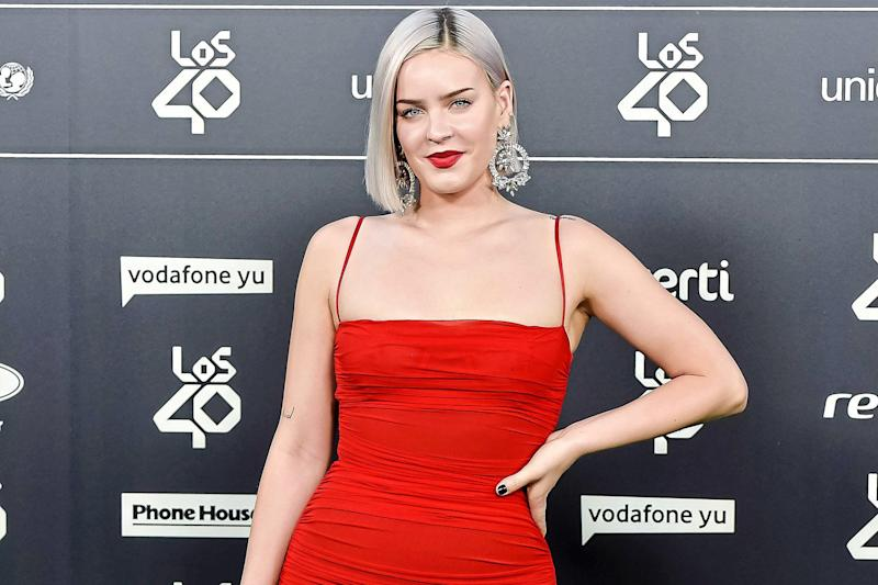 Stay away: Anne-Marie says she tries to avoid airbrushing: Juan Naharro Gimenez/Getty