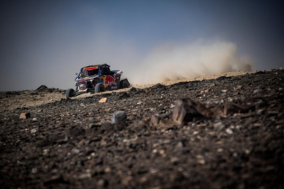 "#387 Red Bull Off-Road Team USA OT3: Cristina Gutierrez Herrero, Francois Cazalet<span class=""copyright"">Red Bull Content Pool</span>"
