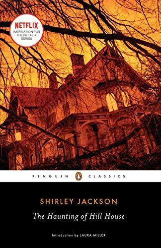 """<p><strong>Shirley Jackson</strong></p><p>amazon.com</p><p><strong>$13.99</strong></p><p><a href=""""https://www.amazon.com/dp/0143039989?tag=syn-yahoo-20&ascsubtag=%5Bartid%7C10055.g.37090571%5Bsrc%7Cyahoo-us"""" rel=""""nofollow noopener"""" target=""""_blank"""" data-ylk=""""slk:Shop Now"""" class=""""link rapid-noclick-resp"""">Shop Now</a></p><p>If you loved the Netflix series, check out the book by one of the best voices in horror. It follows four people who arrive to decide the fate of Hill House: occult scholar Dr. Montague, his assistant Theodora, the fragile Eleanor and future heir Luke. Soon enough, they realize the house has it out for them and it'll be all they can do to escape.</p>"""