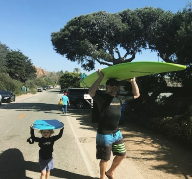 "<p>""Surfin' through Sunday,"" the fashionista captioned this photo of her son, Ace, with her hubby, Eric Johnson. ""Like father like son."" (Photo: <a href=""https://www.instagram.com/p/BaAEvCVAvMG/?hl=en&taken-by=jessicasimpson"" rel=""nofollow noopener"" target=""_blank"" data-ylk=""slk:Jessica Simpson via Instagram"" class=""link rapid-noclick-resp"">Jessica Simpson via Instagram</a>) </p>"