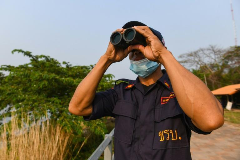 Village watchmen on the Mekong river are Thailand's first line of defence against a fresh methamphetamine influx