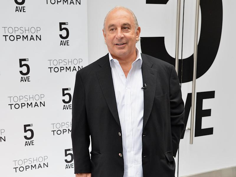Sir Philip could receive the substantial refund if 90 per cent of people choose to take a lump-sum from BHS: Getty