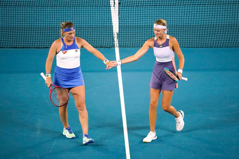 Babos and Mladenovic enjoy sweet revenge after U.S. Open drama
