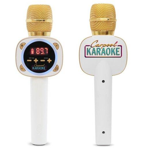 carpool karoake microphone