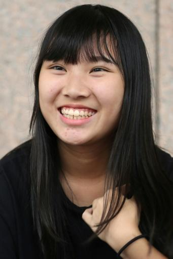 18-year-old Stephanie Fu says in Taiwan there's 'no sense of belonging to China'