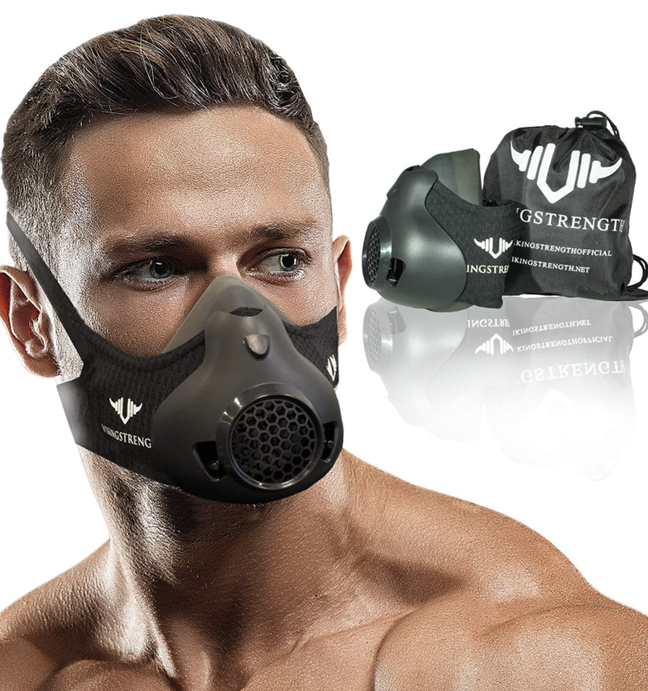 11 breathable masks to wear during your workout: Vikingstrength Workout Mask (Photo via Amazon)