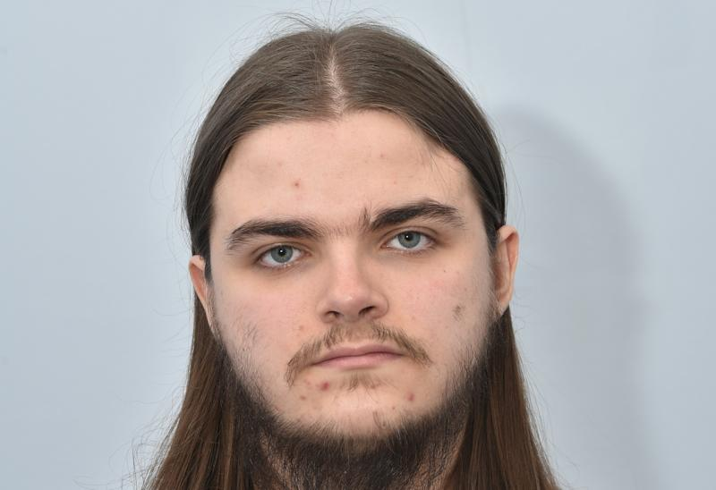 Liam Fenn, 21, was found with instructions on how to make explosives. (SWNS)