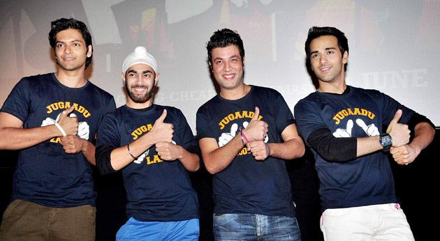 """""""In the whole film industry, all the producers and all the directors have to do 'jugaad' for casting. Nothing can happen without that,"""" the 39-year-old told reporters Wednesday at the launch of the song """"Karle jugaad"""" from his upcoming co-production """"Fukrey""""."""