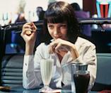 """<p><a class=""""link rapid-noclick-resp"""" href=""""https://go.redirectingat.com?id=74968X1596630&url=https%3A%2F%2Fwww.hulu.com%2Fmovie%2Fpulp-fiction-02cd83e5-f7a9-49eb-b10c-7fddea16de9f&sref=https%3A%2F%2Fwww.marieclaire.com%2Fculture%2Fg2509%2Fmovies-to-watch-before-30%2F"""" rel=""""nofollow noopener"""" target=""""_blank"""" data-ylk=""""slk:watch"""">watch</a><br></p><p>Quentin Tarantino is at his most quotable in this dark crime comedy starring John Travolta and Samuel L. Jackson who play hitmen trying to reclaim a stolen suitcase for their mob boss. The chemistry of the outstanding cast members (including Tarantino favorite Uma Thurman) and the bizarre script routinely land this at the top of critics' lists for the best film of the century.</p>"""