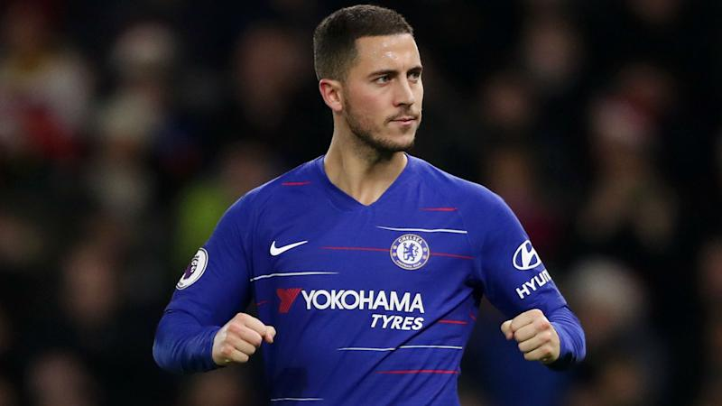 Hazard urges fans to behave during Chelsea-Tottenham clash