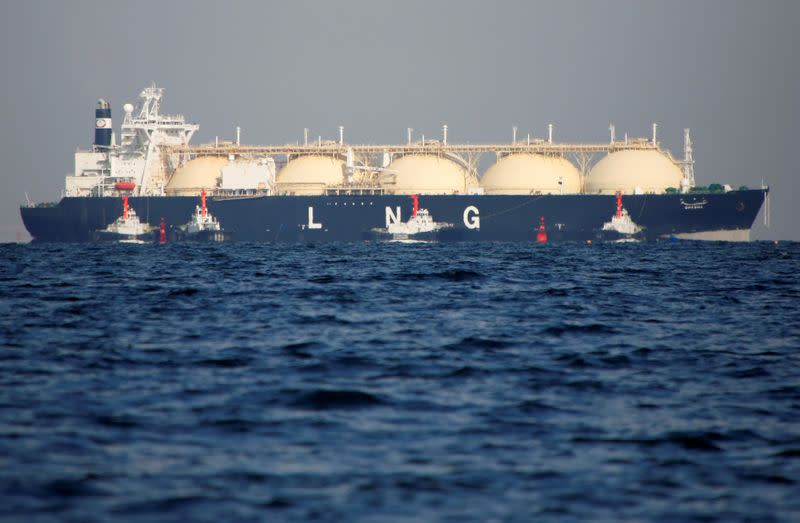 Asian LNG prices edge up from record low but demand still stale